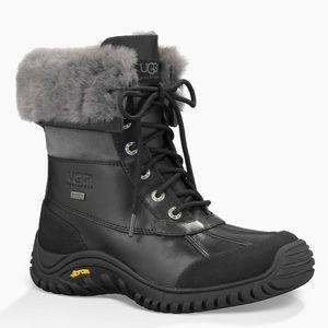 UGG Adirondack II Shearling Waterproof Boot Black